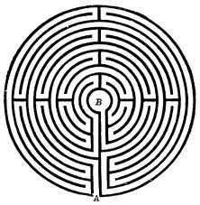 This is the labyrinth I wrote about in my book.