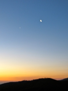 Venus at early dawn